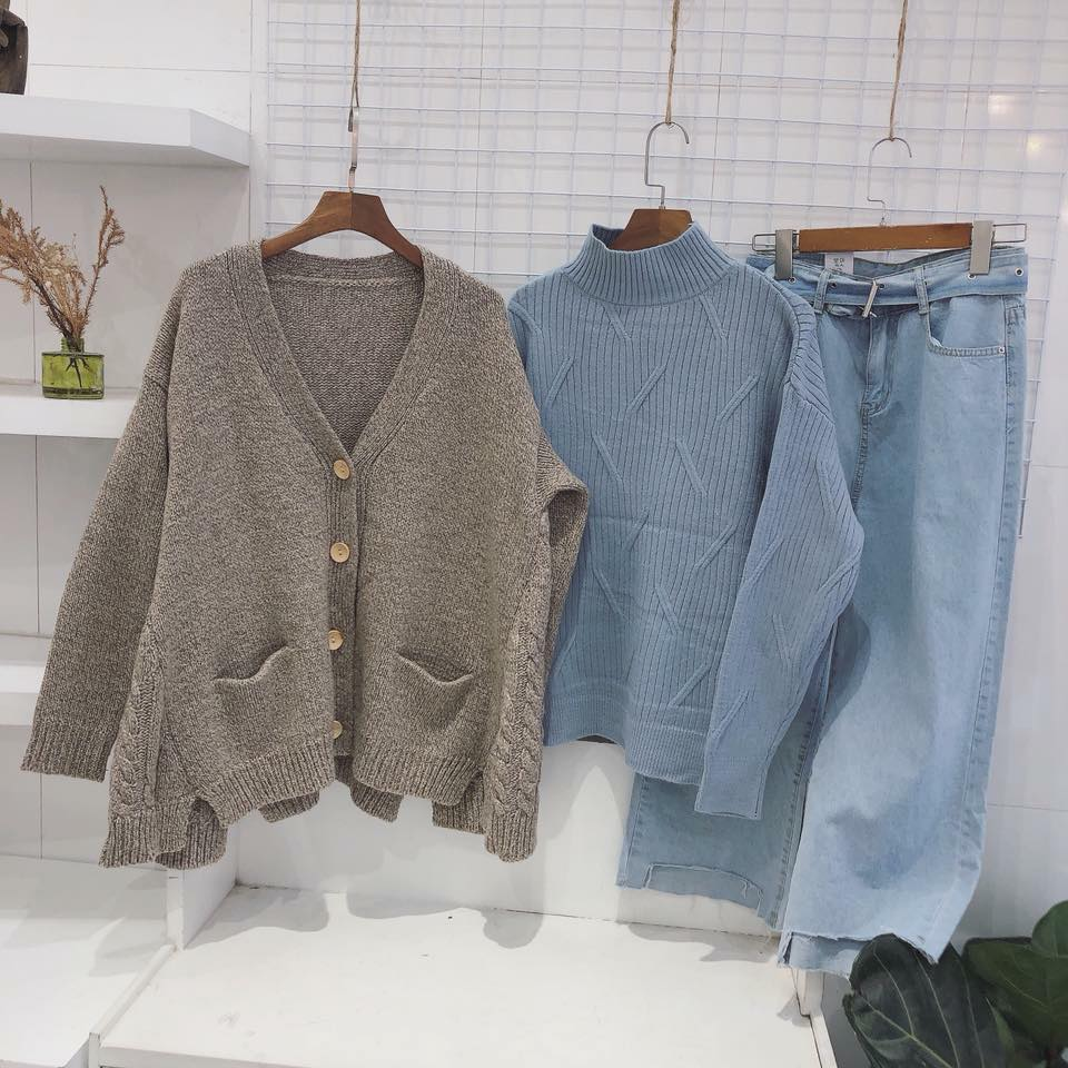 Dạo quanh một vòng 5 shop thời trang bán áo len nữ đẹp nhất Hà Nội