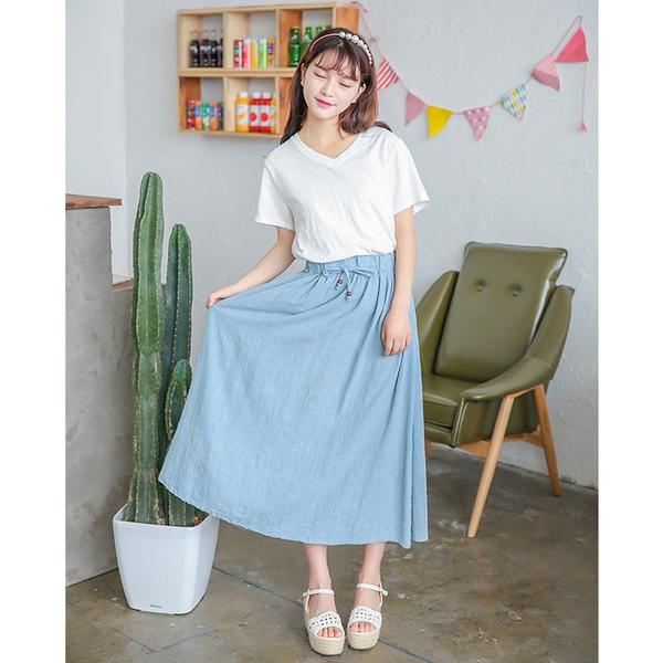 Chân Váy Dài Phong Cách Nhật Bản Sakurafashionvn